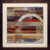 North American Art 'Industrial I' by Tom Reeves Framed Graphic Art