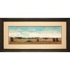 North American Art Flat Land II Framed Painting Print