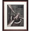 North American Art Vintage Plane I Framed Graphic Art