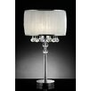 "OK Lighting Pure Essence 31"" H Table Lamp with Drum Shade"