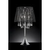 "OK Lighting Nightfall Crystal 28"" H Table Lamp with Empire Shade"