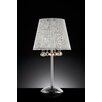 "OK Lighting Daydream Crystal 27.5"" H Table Lamp with Empire Shade"