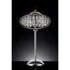 "OK Lighting Royal Krystale 28"" H Table Lamp with Globe Shade"