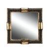 OK Lighting Beaded Stone Decorative Mirror