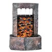 Resin Brickwall Fountain with Light - OK Lighting Indoor and Outdoor Fountains