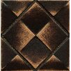 "Bedrosians Ambiance Insert Matrix City 2"" x 2"" Resin Tile in Venetian Bronze"