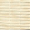 "Bedrosians Shizen 0.5"" x 4"" Porcelain Mosaic Tile in Sand"