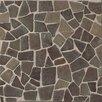 Bedrosians Hemisphere Random Sized Stone Pebble Tile in Sumatra
