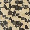 Bedrosians Hemisphere Random Sized Stone Pebble Tile in Baltra Blend