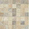 "Bedrosians Rok 2"" x 2"" Porcelain Mosaic Tile in Mix Colors"