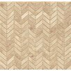 """Bedrosians 12"""" x 12"""" Marble MosaicTile in Cappuccino"""