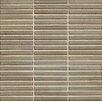 "Bedrosians Shizen 0.5"" x 4"" Porcelain Mosaic Tile in River"