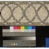 """Bedrosians 12"""" x 6"""" Stone Mosaic Liner Tile in Amber Gold/Chinese Multicolor"""