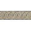 "Bedrosians Forge Listello Baroque 1.9"" x 6.5"" Porcelain Mosaic Tile in Beige"