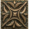 "Bedrosians Ambiance Insert Rising Star 1"" x 1"" Resin Tile in Bronze"