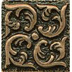 "Bedrosians Ambiance Insert Wave 1"" x 1"" Resin Tile in Bronze"
