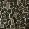 Bedrosians Hemisphere Random Sized Stone Pebble Tile in Black Lava