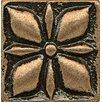 "Bedrosians Ambiance Insert Jasmine 1"" x 1"" Resin Tile in Bronze"