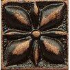 "Bedrosians Ambiance Insert Jasmine 1"" x 1"" Resin Tile in Venetian Bronze"