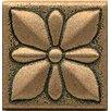 "Bedrosians Ambiance Insert Jasmine 2"" x 2"" Resin Tile in Bronze"