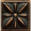 "Bedrosians Ambiance Insert Jasmine 2"" x 2"" Resin Tile in Venetian Bronze"
