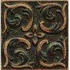 "Bedrosians Ambiance Insert Wave 4"" x 4"" Resin Tile in Venetian Bronze"