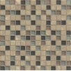 "Bedrosians Interlude 0.75"" x 0.75"" Stone and Glass MosaicTile in Octave"
