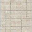 "Bedrosians Purestone 1"" x 2"" Porcelain Mosaic Tile in Grigio"