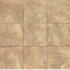 "Bedrosians Forge 13"" x 13"" Porcelain Field Tile in Gold"