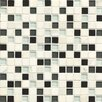 "Bedrosians Interlude 0.75"" x 0.75"" Stone and Glass Mosaic Tile in Hymn"