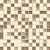 "Bedrosians Interlude 0.75"" x 0.75"" Stone and Glass Mosaic Tile in Maestro"