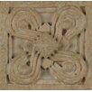 "Bedrosians Marmi Di Napoli Deco Insert 2.5"" x 2.5"" Resin Tile in Creme Brulee"