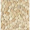 Bedrosians Hemisphere Random Sized Stone Pebble Tile in Antiqua