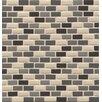 "Bedrosians ID-ology 0.5"" x 1"" Glass Mosaic Tile in Drift"