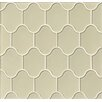 Bedrosians Mallorca Glass Mosaic Tile in Sand