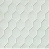 Bedrosians Mallorca Glass Mosaic Tile in White Linen