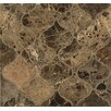Bedrosians Marble Mosaic Tile in Emperador Dark