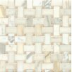 Bedrosians Marble Mosaic Tile in Calacatta Oro and Jura Beige