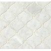Bedrosians Marble Mosaic Tile in White Carrara