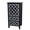 Gallerie Decor Trellis Drawer and 1 Door Cabinet Chest