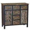 Gallerie Decor Wovenwood 6 Drawer Cabinet