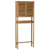 """Gallerie Decor Natural Spa 27.5"""" x 67"""" Free Standing Over the Toilet"""