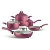 Pensofal Uniqum Rubino 9-Piece Cookware Set
