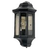 Garden Zone Newbury Half 1 Light Outdoor Flush Mount