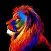 Innova Majestic Lion Tempered Glass Graphic Art