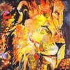 Innova Magnificent Animals Collage 3 Piece Graphic Art Set on Canvas (Set of 3)