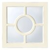 Innova Casa Distressed Window Mirror