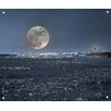 Innova Full Moon Photographic Tempered Glass Art