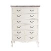 Derry's Heritage 8 Drawer Chest of Drawers