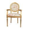 Derry's Louis Floral Upholstered Dining Chair